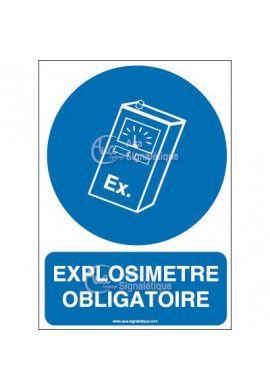 Panneau explosimètre obligatoire