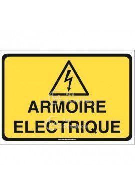 Panneau armoire électrique horizontal