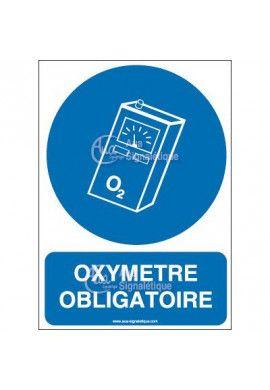Panneau oximètre obligatoire