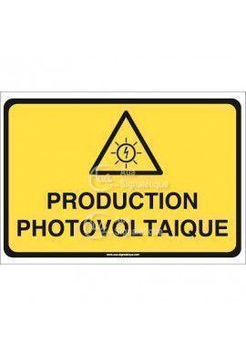Panneau production photovoltaique