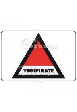 Panneau Vigipirate - Horizontal