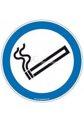 Panneau Espace fumeur-R