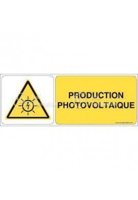Panneau production photovoltaïque - B