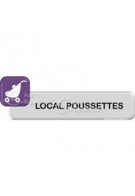 Autocollant VINYLO - Local Poussettes