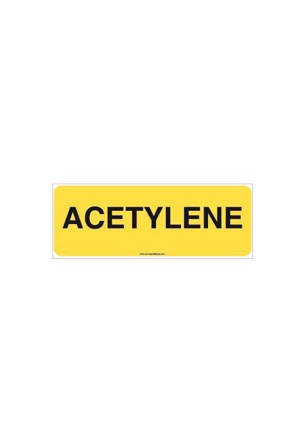 Panneau Acétylène-B