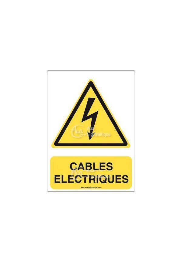 Panneau Câbles Electriques