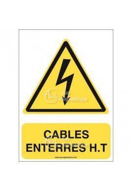 Panneau Câbles enterrés H.T