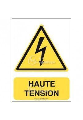 Panneau Haute Tension - V