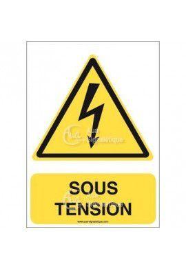 Panneau Sous Tension - V