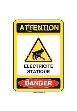 Panneau Electricité Statique - V