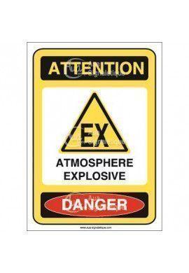 Panneau Atmosphère Explosive - AI