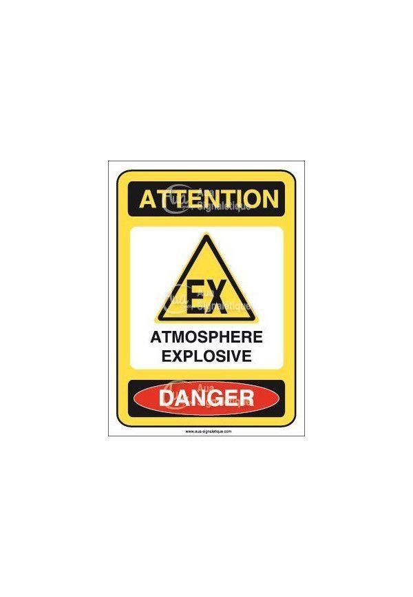 Panneau Atmosphère Explosive - V
