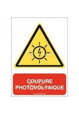 Panneau Coupure Photovoltaïque - AI