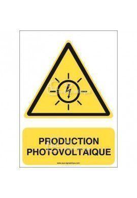 Panneau Production photovoltaïque - AI
