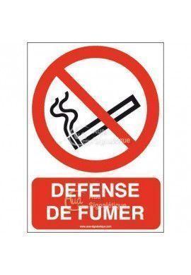 Panneau Défense de fumer-AI