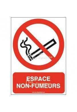 Panneau Espace non fumeurs-AI