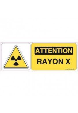 Panneau Rayon X-B