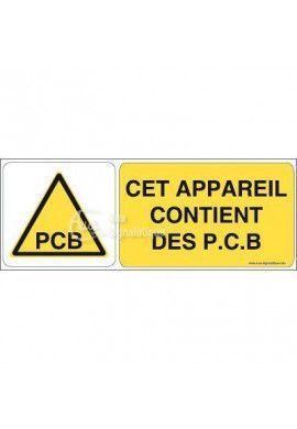 Panneau danger PCB - B