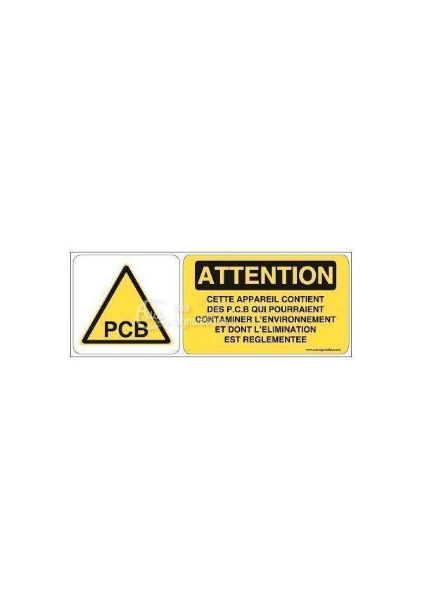 Panneau PCB risque contaminer environnement - B