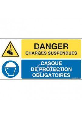 Panneau duo Charges suspendues