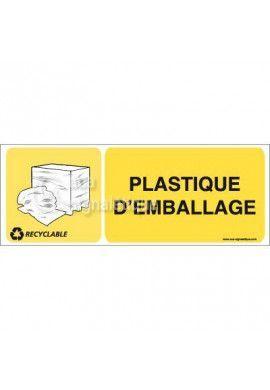 Panneau Plastique d'emballage- H