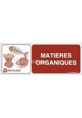 Panneau Matières Organiques- H