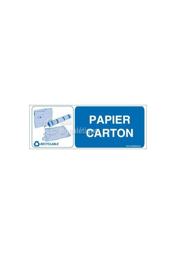 Panneau Papier Carton- H