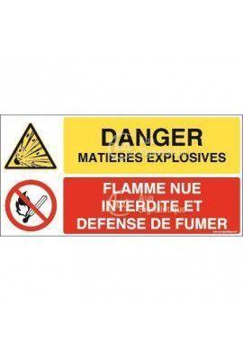 Panneau duo Matières explosives