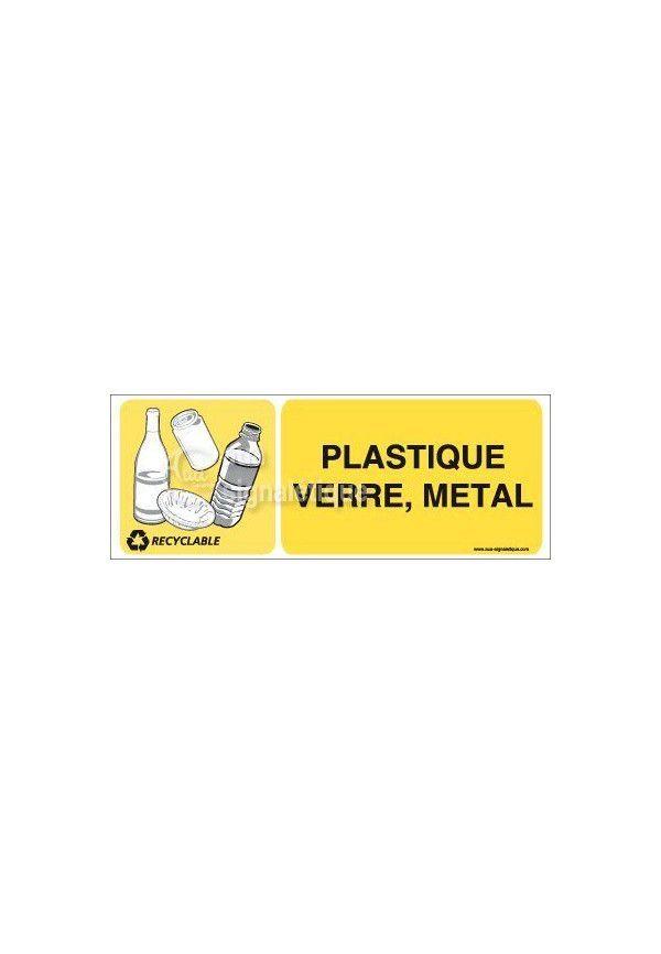 Panneau Plastique Verre Métal - H