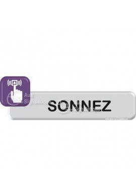 Autocollant VINYLO - Sonnez