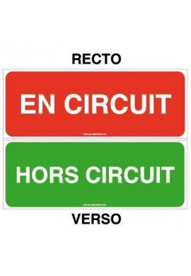 Kit Panneau En Circuit / Hors Circuit