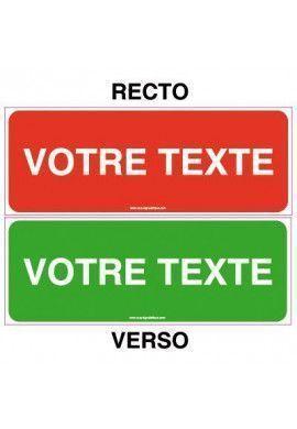 Kit Panneau Recto / Verso - Personnalisable