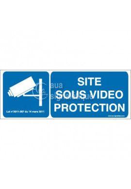 Panneau Site Sous Vidéo Protection