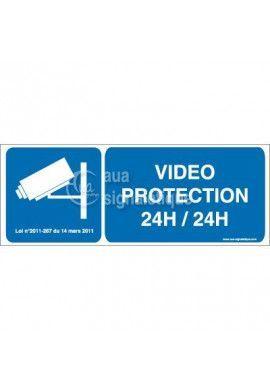 Panneau Vidéo Protection 24h/24