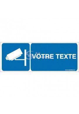 Panneau Votre Texte A La Demande - Vidéo 02