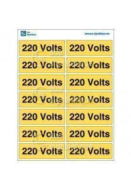 Planche Pictogrammes 220 Volts
