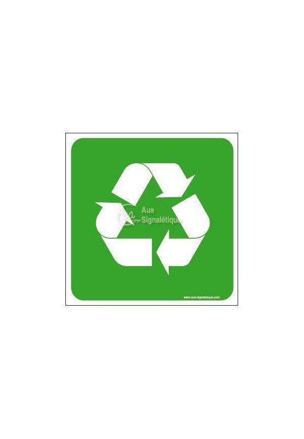 Panneau Recyclage, Logo