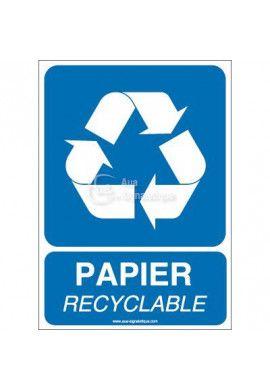 Panneau Papier Recyclable
