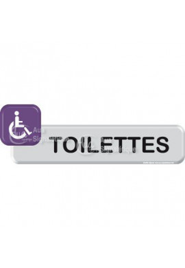 Autocollant VINYLO - Toilettes handicapé