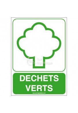 Panneau Déchets Verts