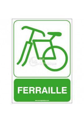 Panneau Ferraille
