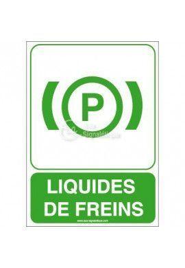 Panneau Liquides de Freins