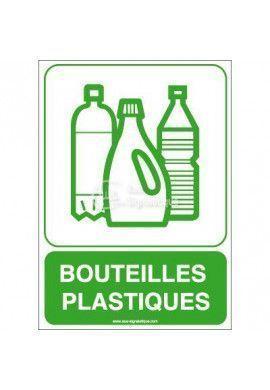 Panneau Bouteilles Plastiques
