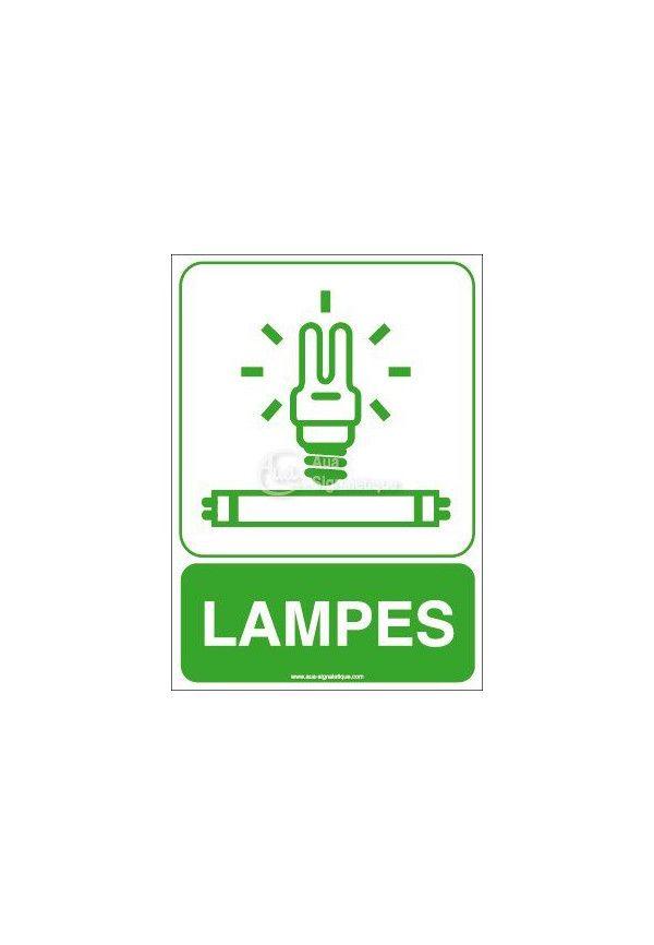 Panneau Lampes