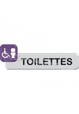 Autocollant VINYLO -Toilettes handicapé 02
