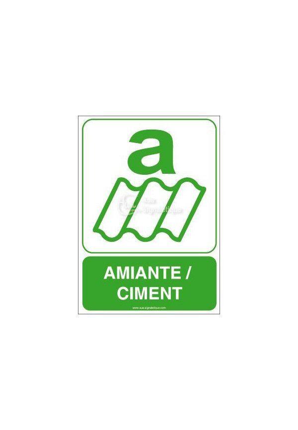 Panneau Amiante, Ciment