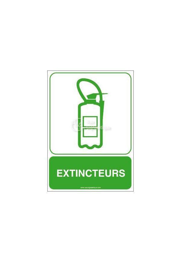 Panneau Extincteurs