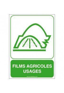Panneau Films Agricoles Usagés