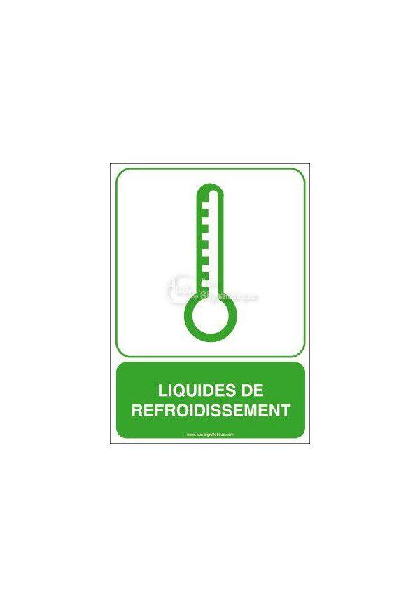 Panneau Liquides de Refroidissement
