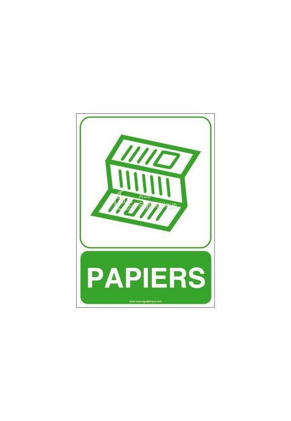 Panneau Papiers